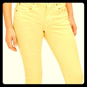Vintage Copper Gap Curvy True Skinny Ankle Jeans